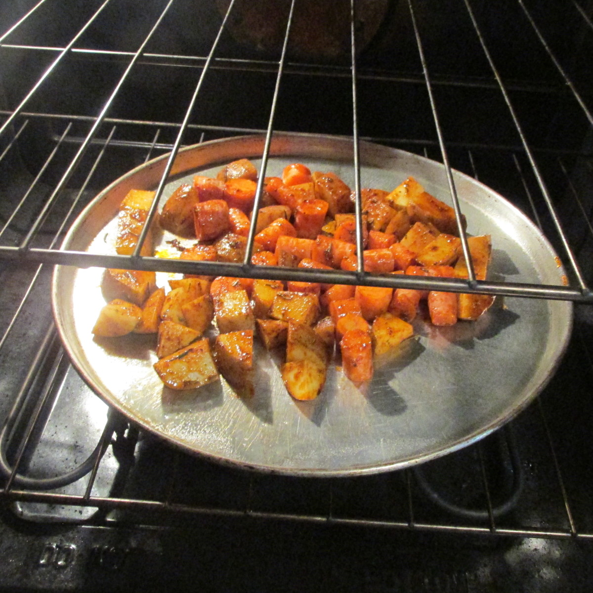 Vegetables in the oven