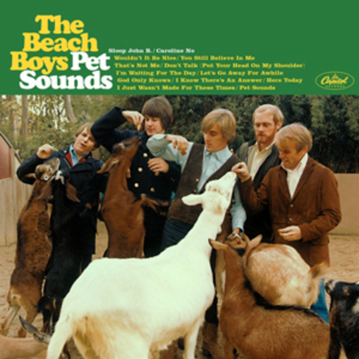 One of the most groundbreaking albums of its time, Pet Sounds contained a mixture of many experimental sounds and harmonies in its songs.