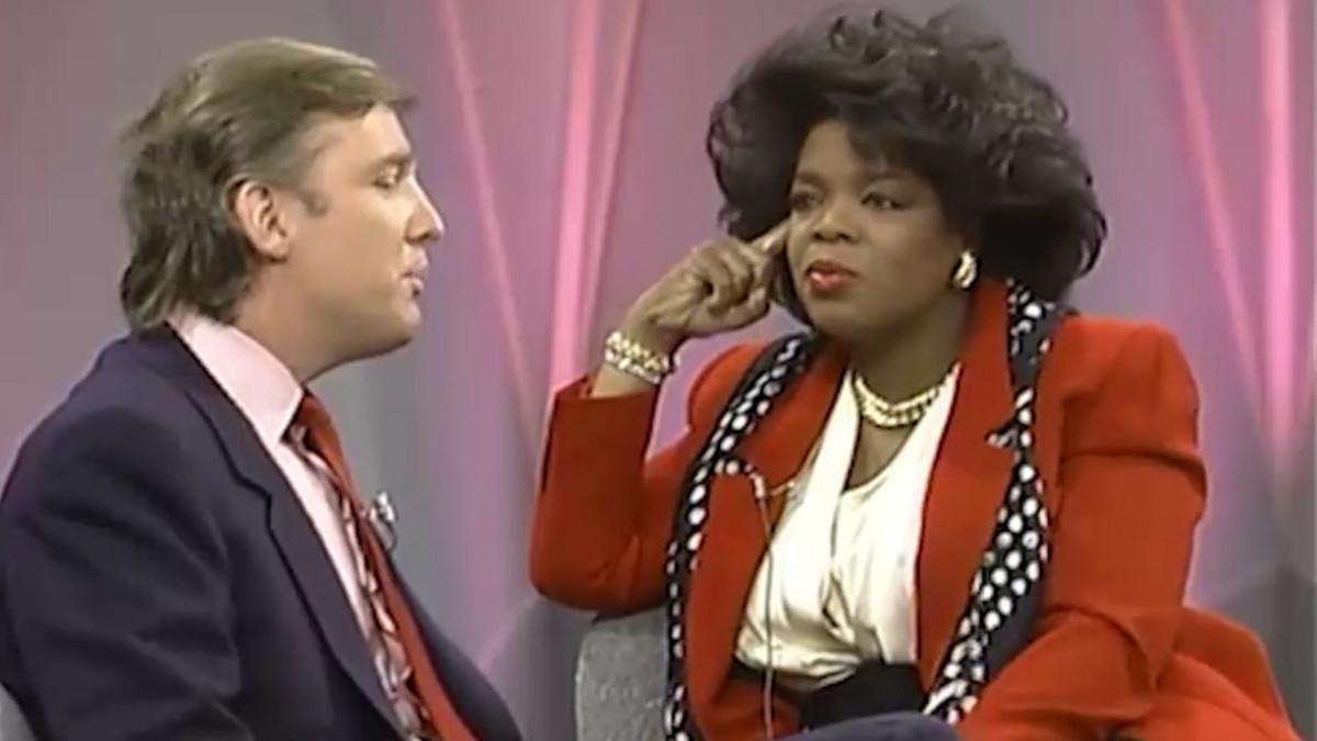 1999, Trump on the Oprah Winfrey Show.