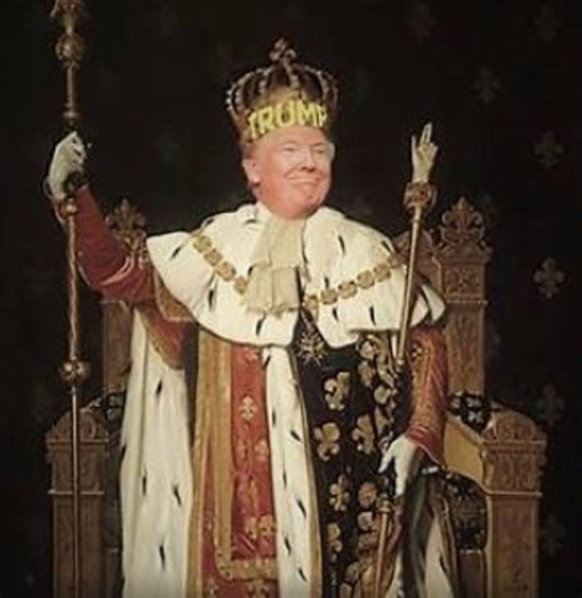Trump the President who wants to be king