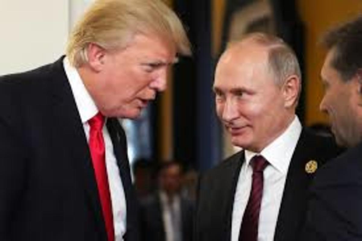 President Donald J Trump and Putin