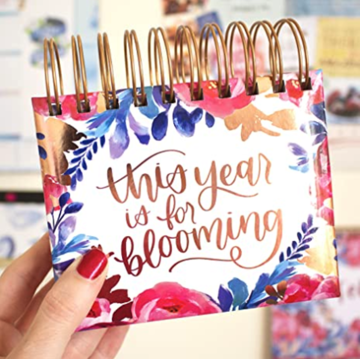 My favorite inspiring visual, the Bloom Daily Flip Calendar.