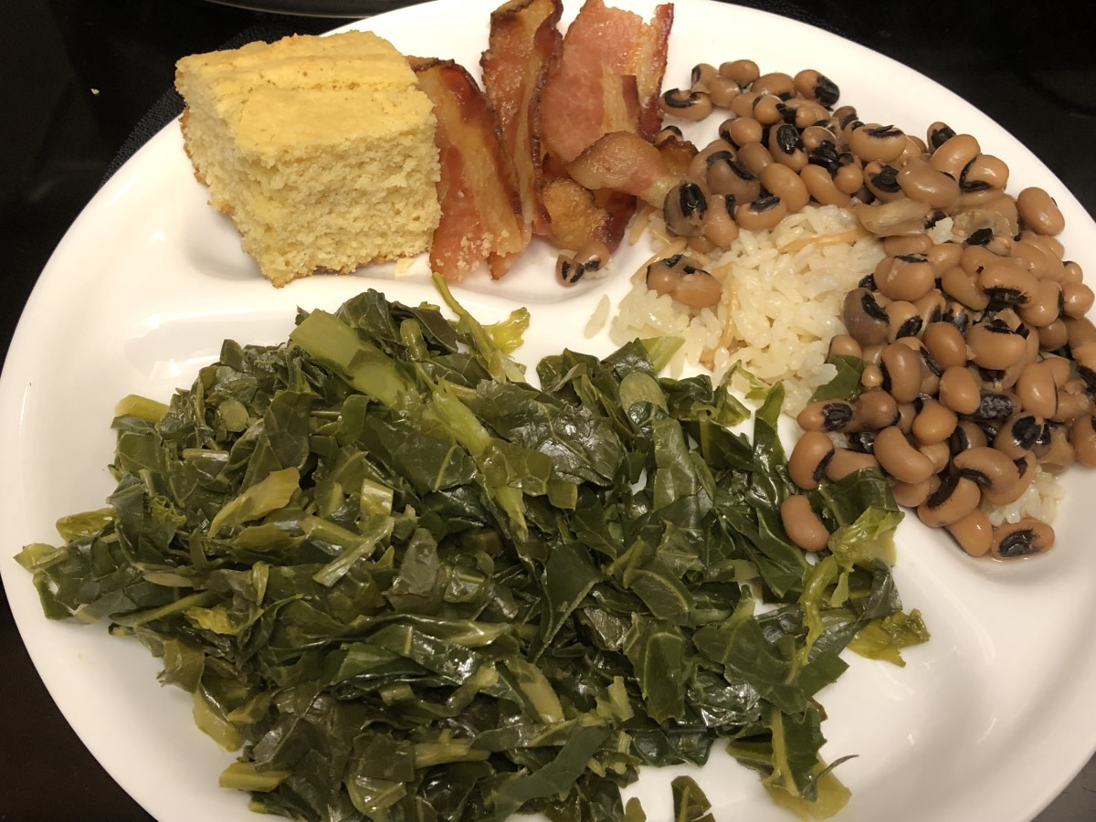 Traditional Southern New Year's Meal