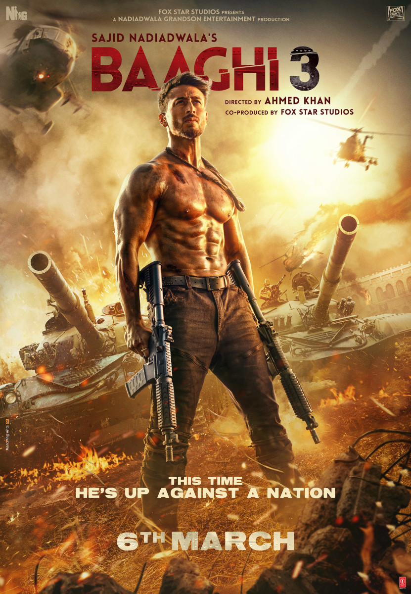 Get ready for an action movie on steroids!