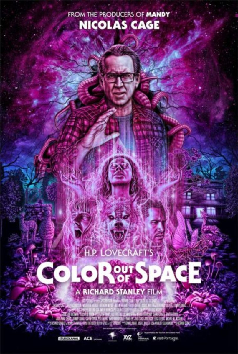 You like a horror movie painted by a neon rainbow? Here you go!