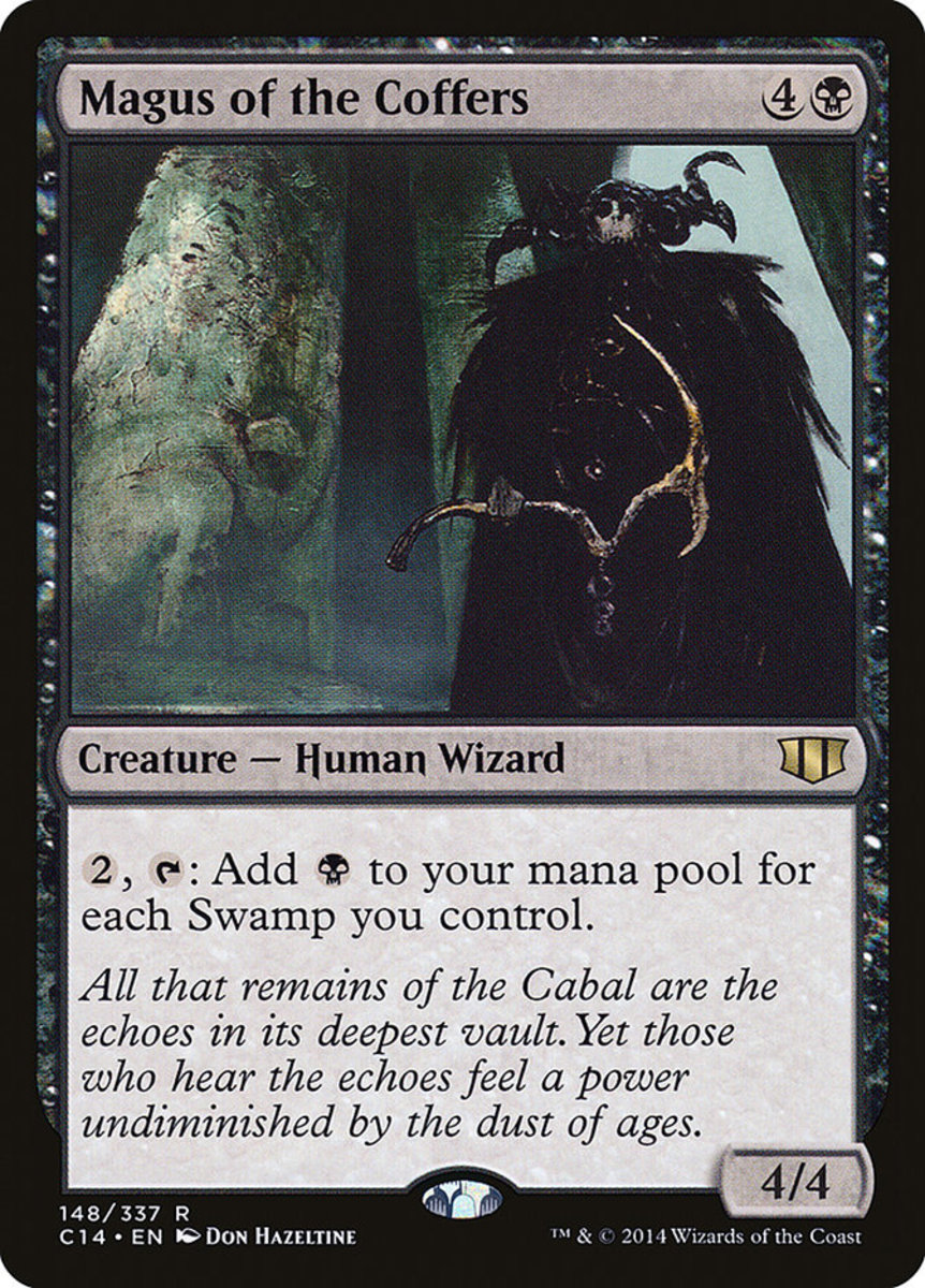 Magus of the Coffers mtg