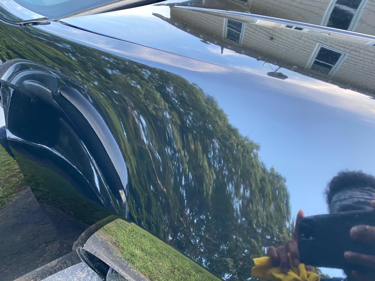 Paint Correction on a Black 2010 Acura