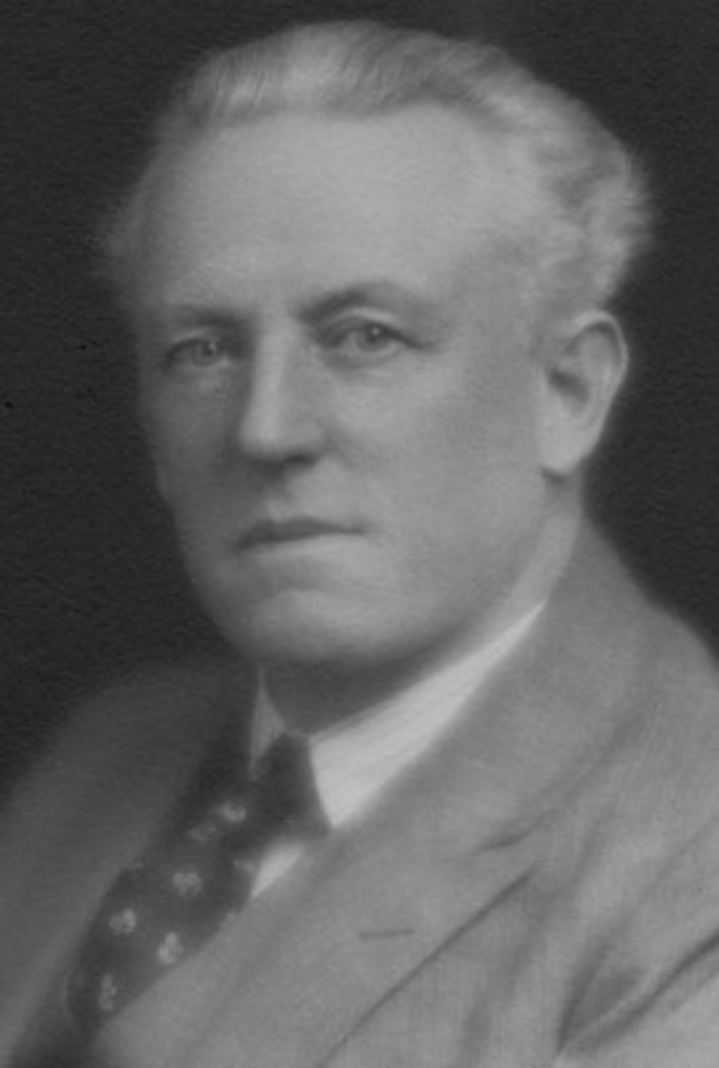 William Ennever in about 1930.