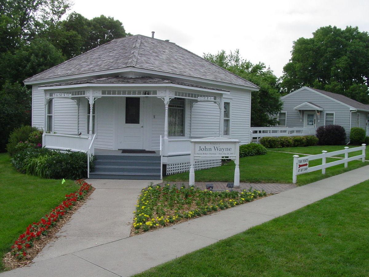 Birth home of John Wayne