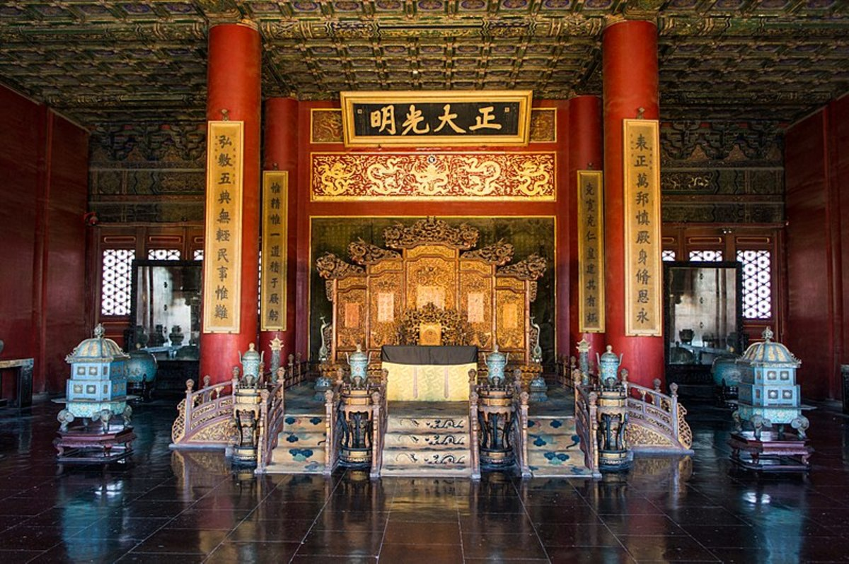A Throne in the Forbidden City