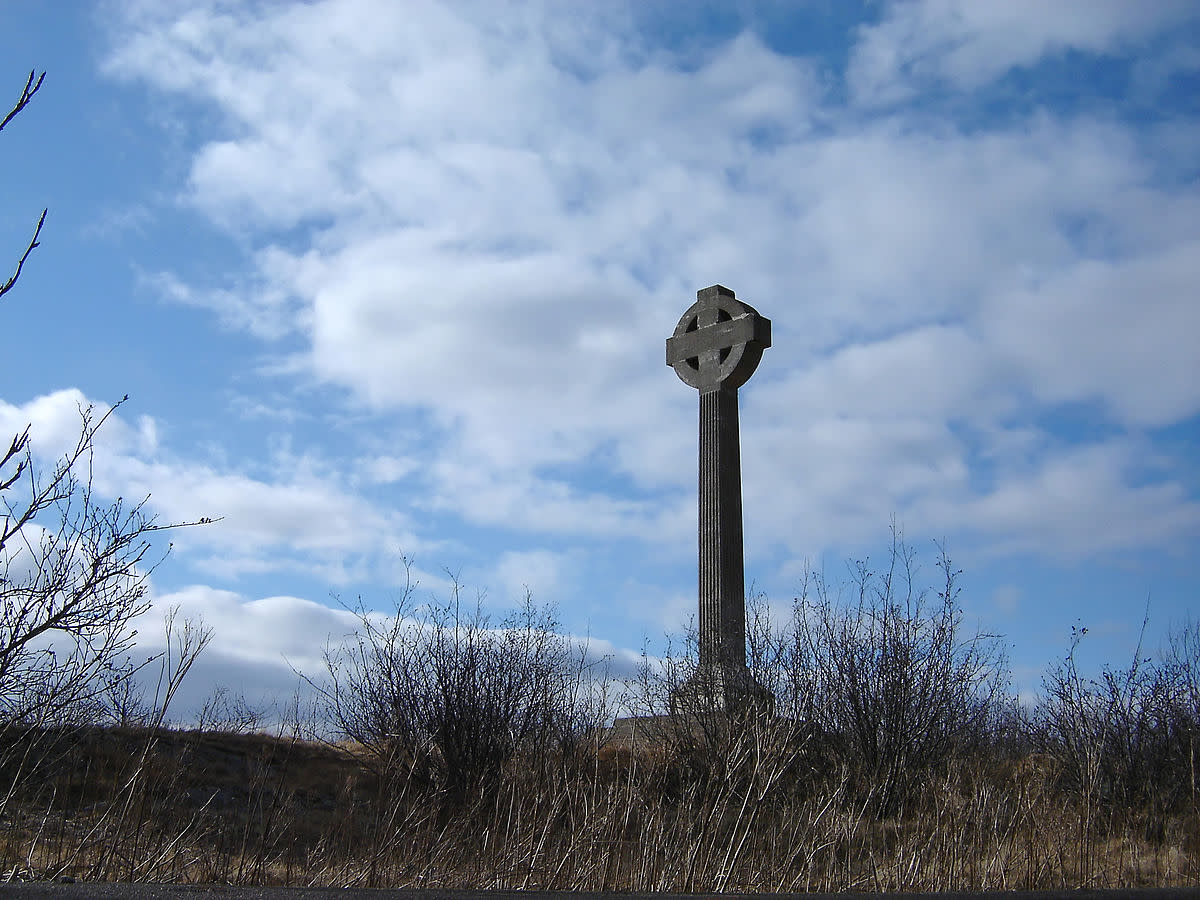 Partridge Island's Celtic Cross Monument.