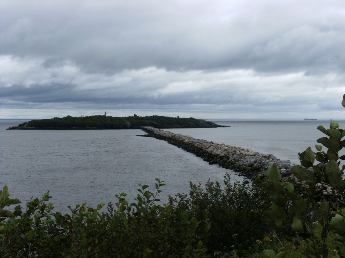 A clear view of Partridge Island