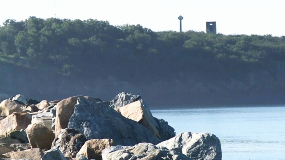 A view of the mysterious Partridge Island on a clear day