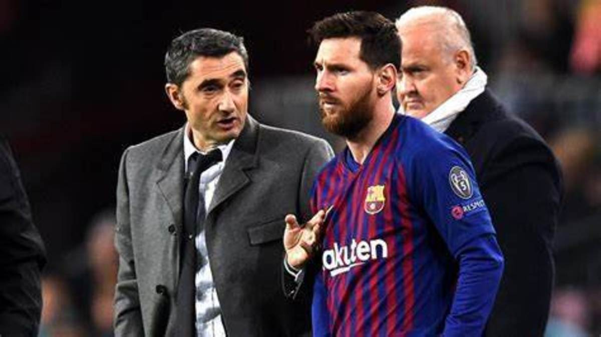 Ernesto Valverde's time in Barcelona