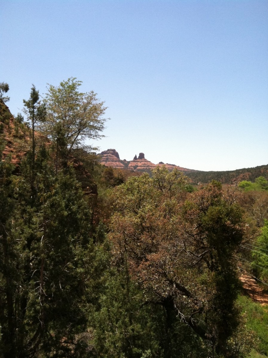 Above Sedona Arizona