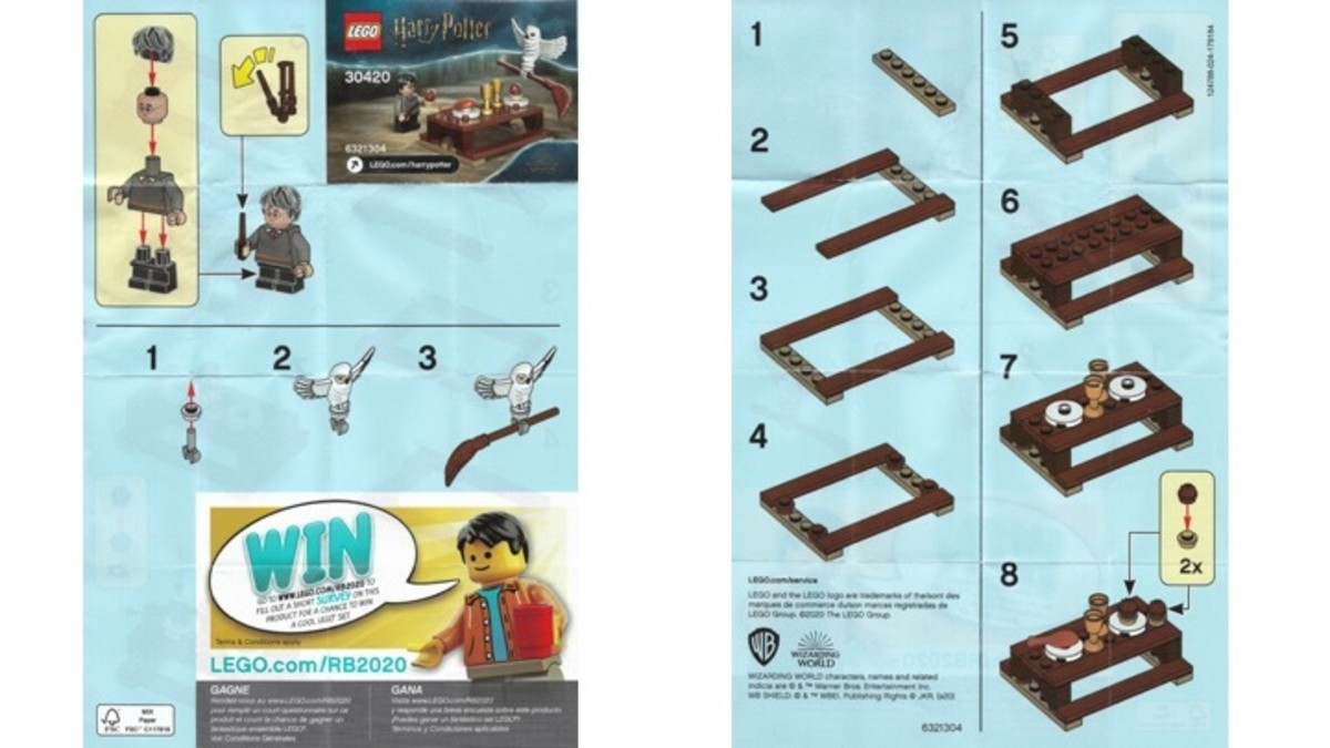 LEGO Harry Potter and Hedwig Owl Delivery 30420 Instructions