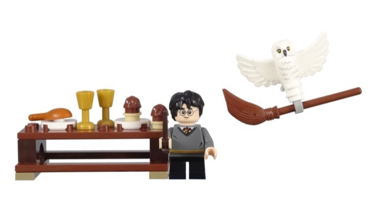 LEGO Harry Potter and Hedwig Owl LEGO Harry Potter and Hedwig Owl Delivery 30420 Complete Set