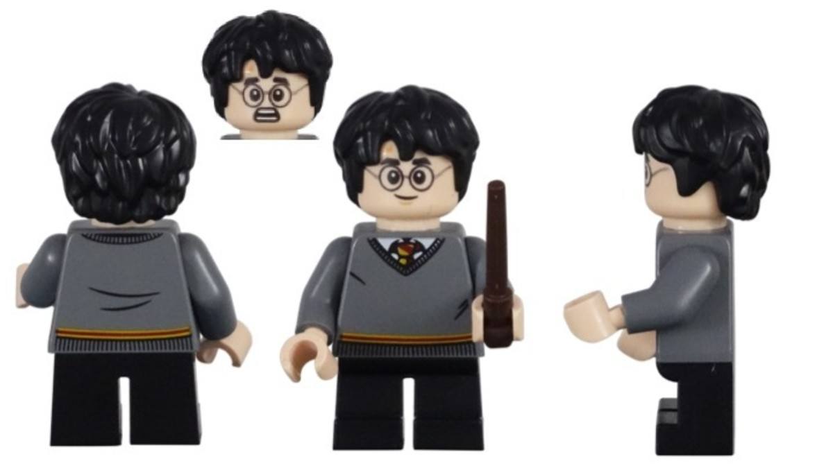 LEGO Harry Potter and Hedwig Owl Delivery 30420 Harry Potter Minifigure