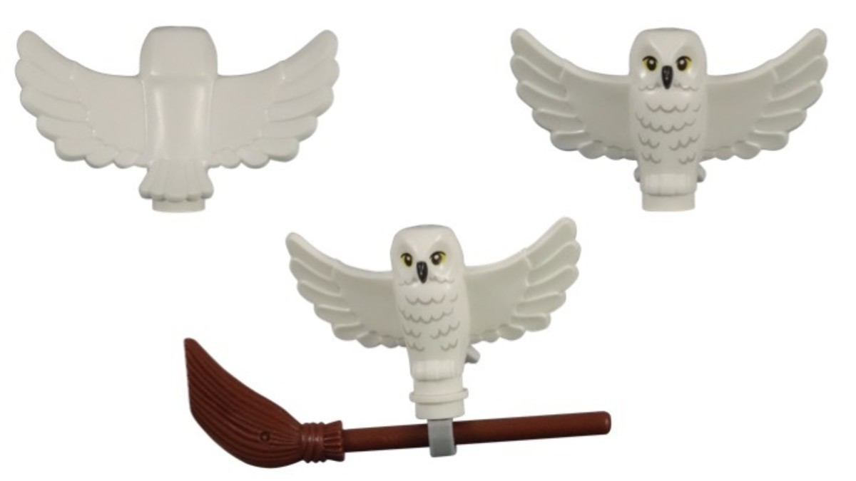 LEGO Harry Potter and Hedwig Owl Delivery 30420 Hedwig While Owl Spread Wings Creature Piece