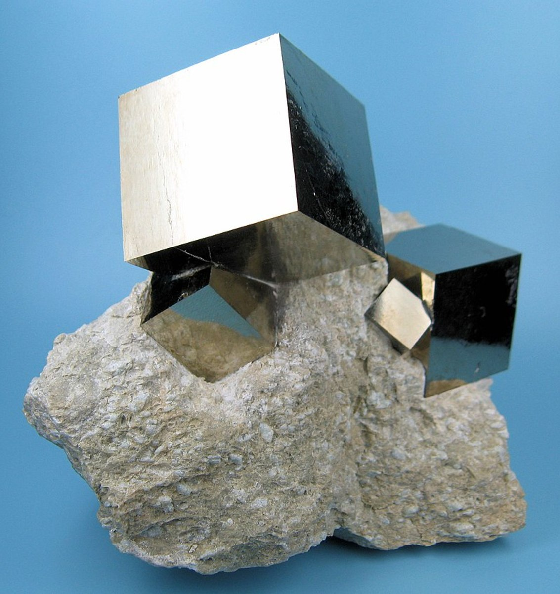 All that glitters is not gold - Iron Pyrite, better known as Fools Gold
