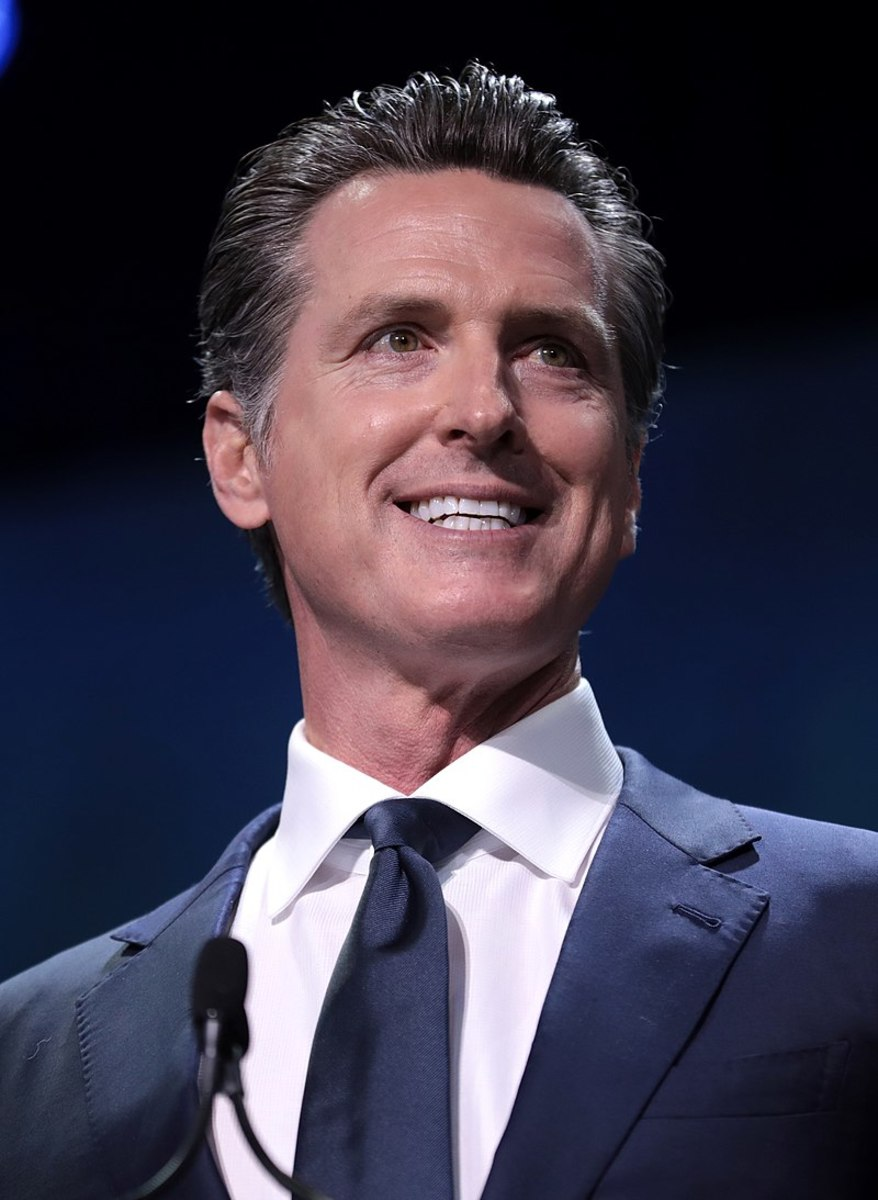 "California Governor Glamorous Gavin Newsom, the ""Pol"" Pot calling the kettle ""Brown."""