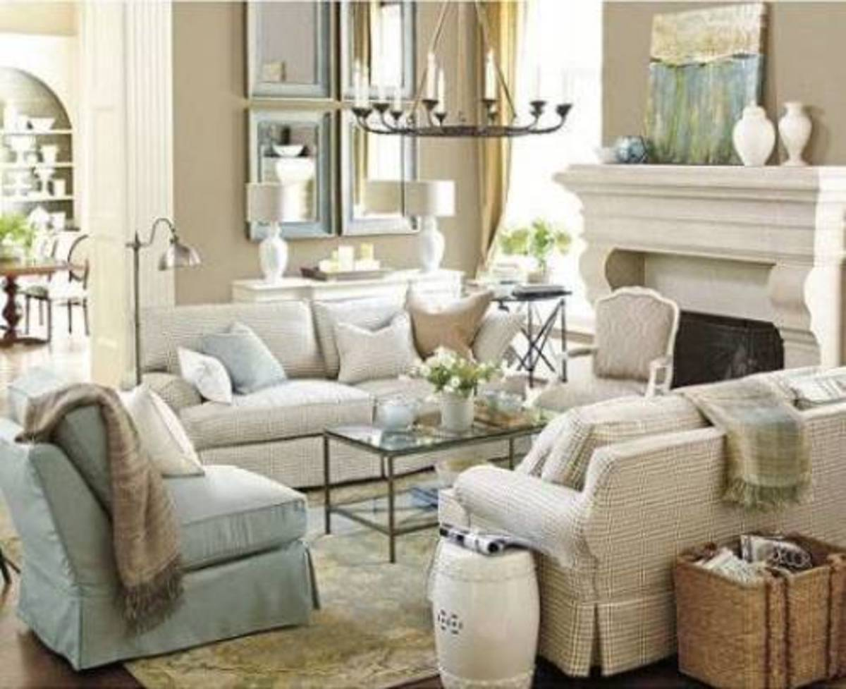 Beige is used like the neutral shade  easy additional hues. It is neutral as decor with the living room.