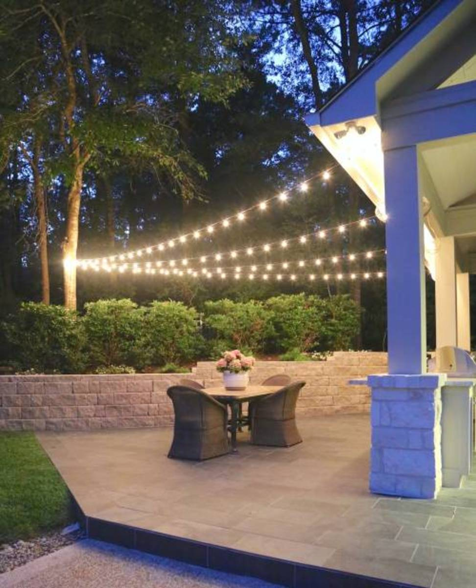 This is easy quick tips and the ideas for  hanging outdoor string lights.