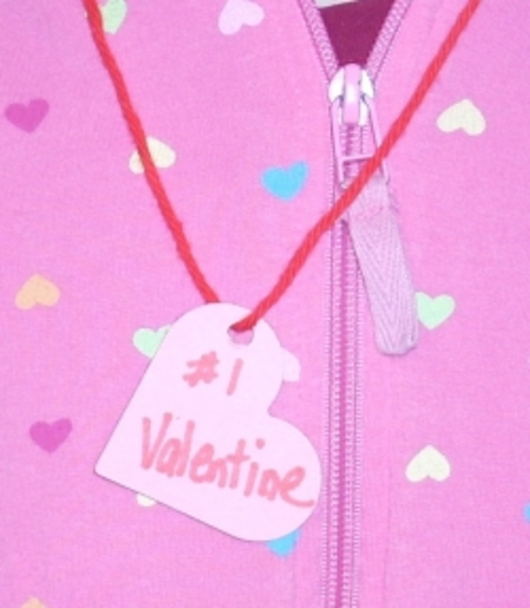 Valentine's Paper Necklace
