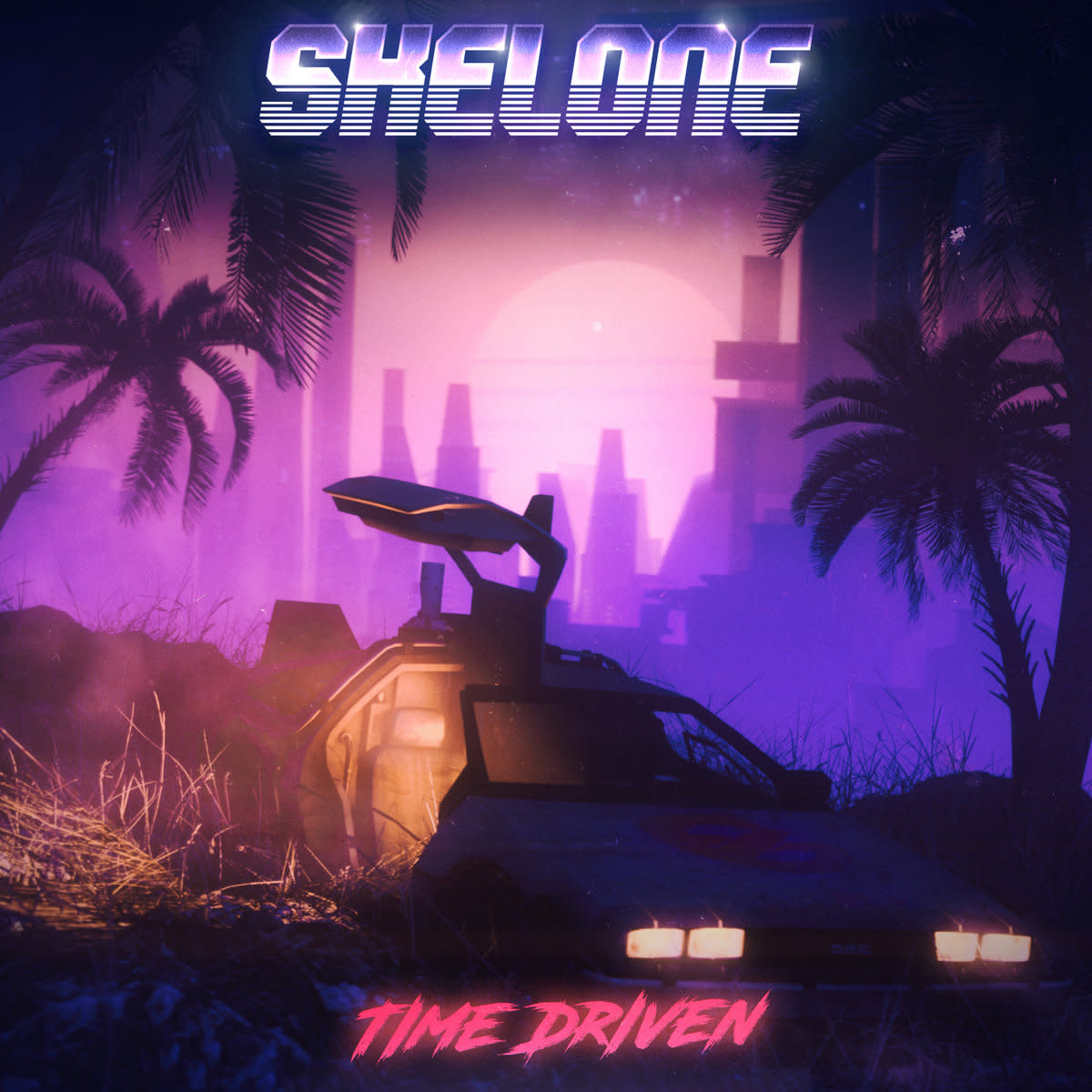 synth-album-revew-time-driven-by-skelone-and-guests