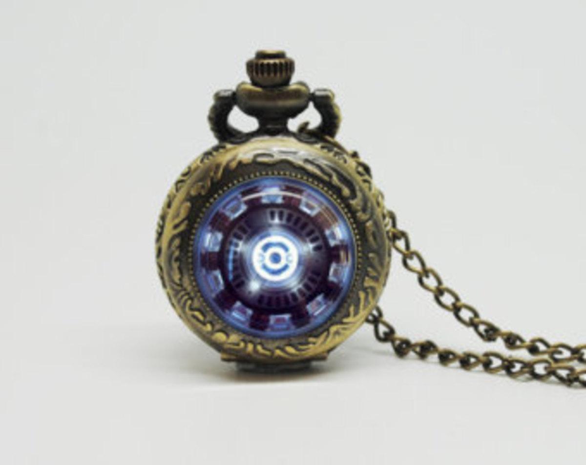 Iron Man pocket watch