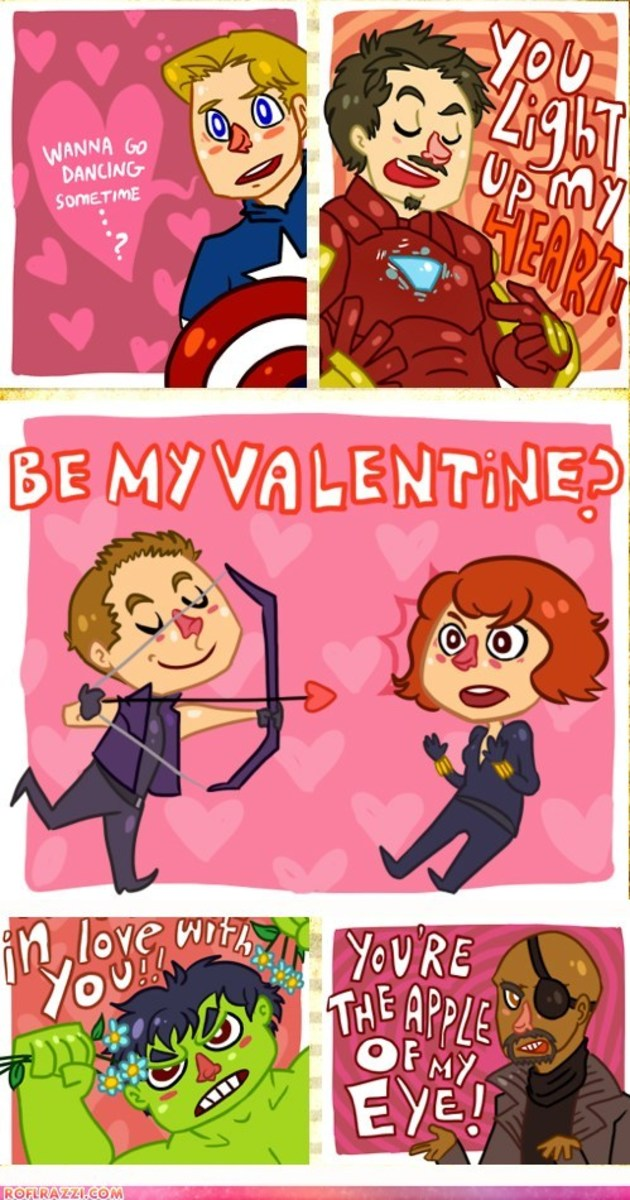 The Avengers Valentines