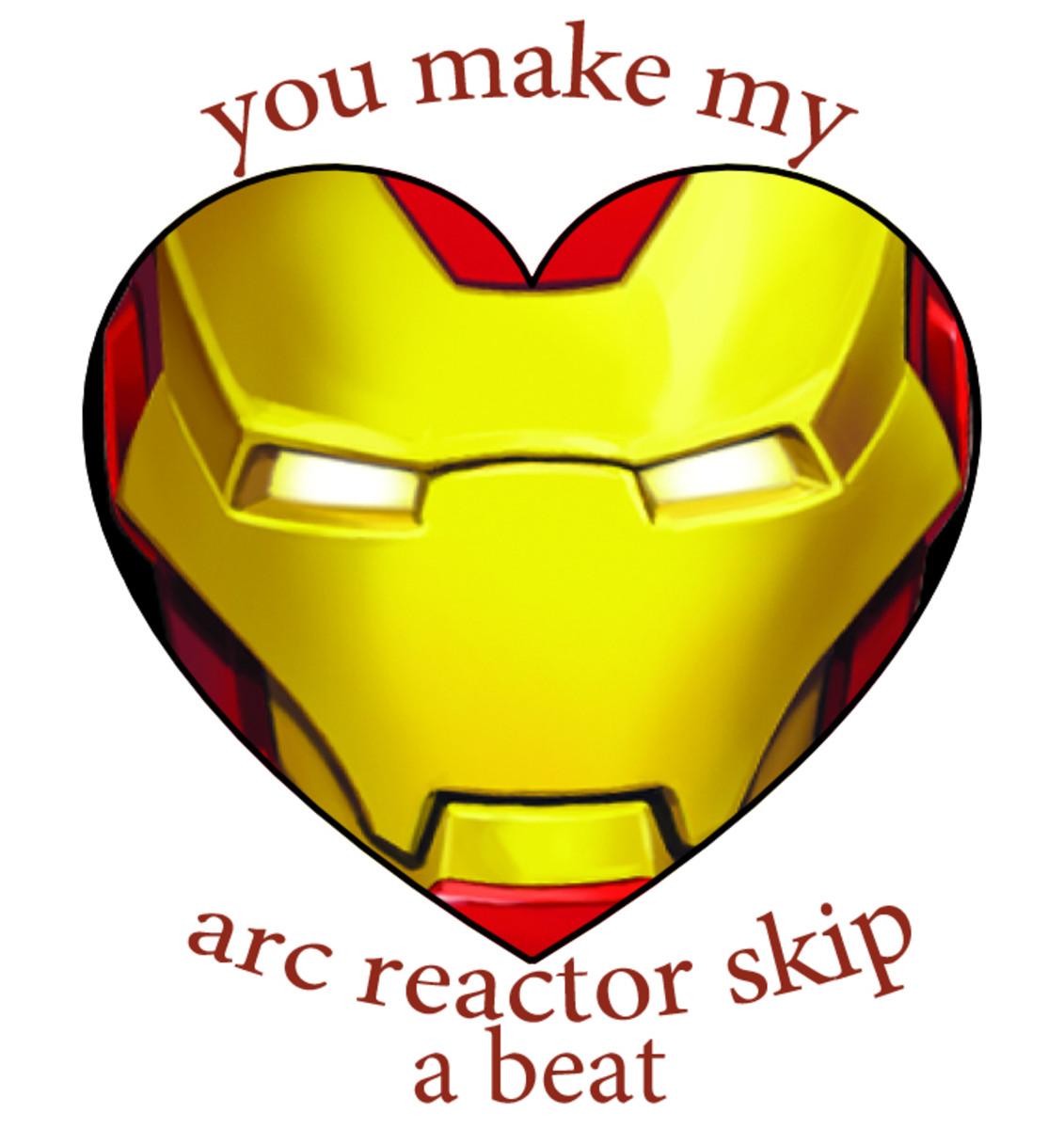 Iron Man Valentine