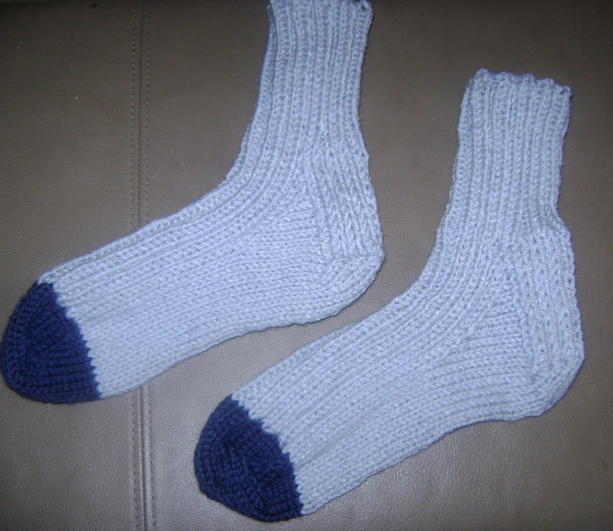Heavy Socks in Worsted Yarn