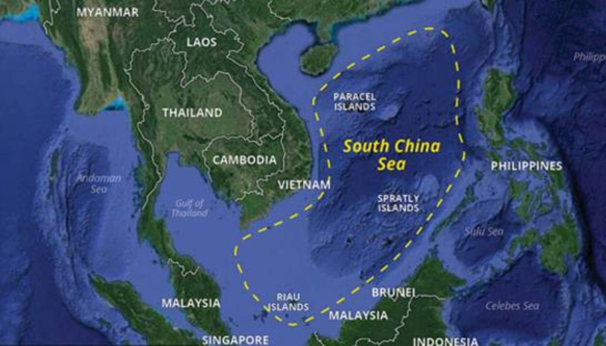 Countries Bordering the South China Sea