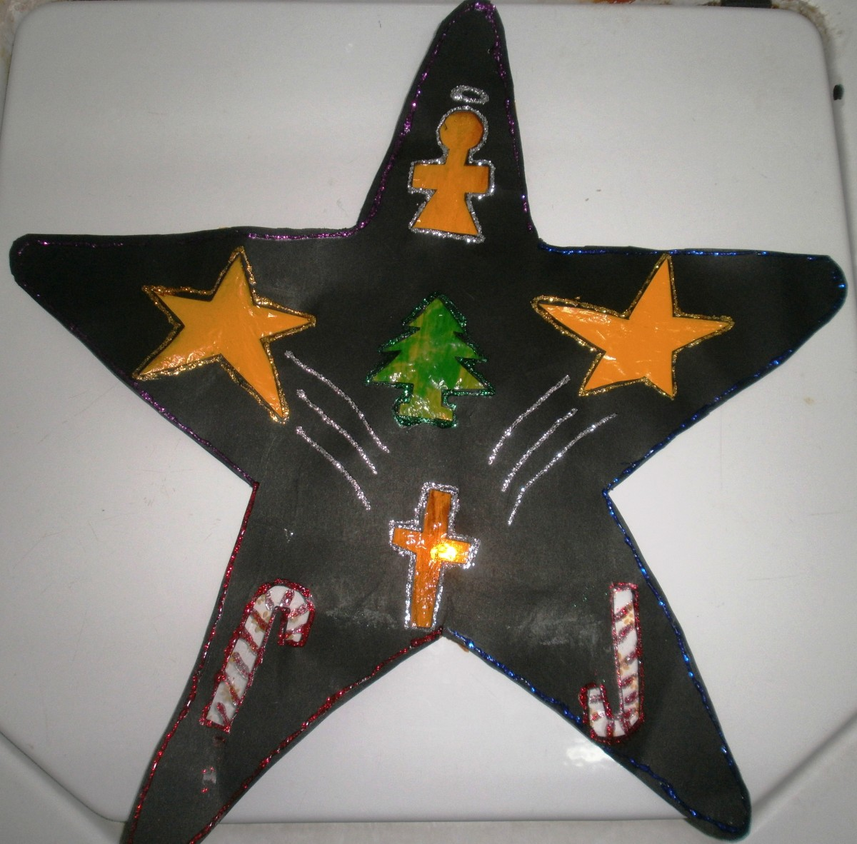 Christmas Craft for Kids That Tells a Christmas Story