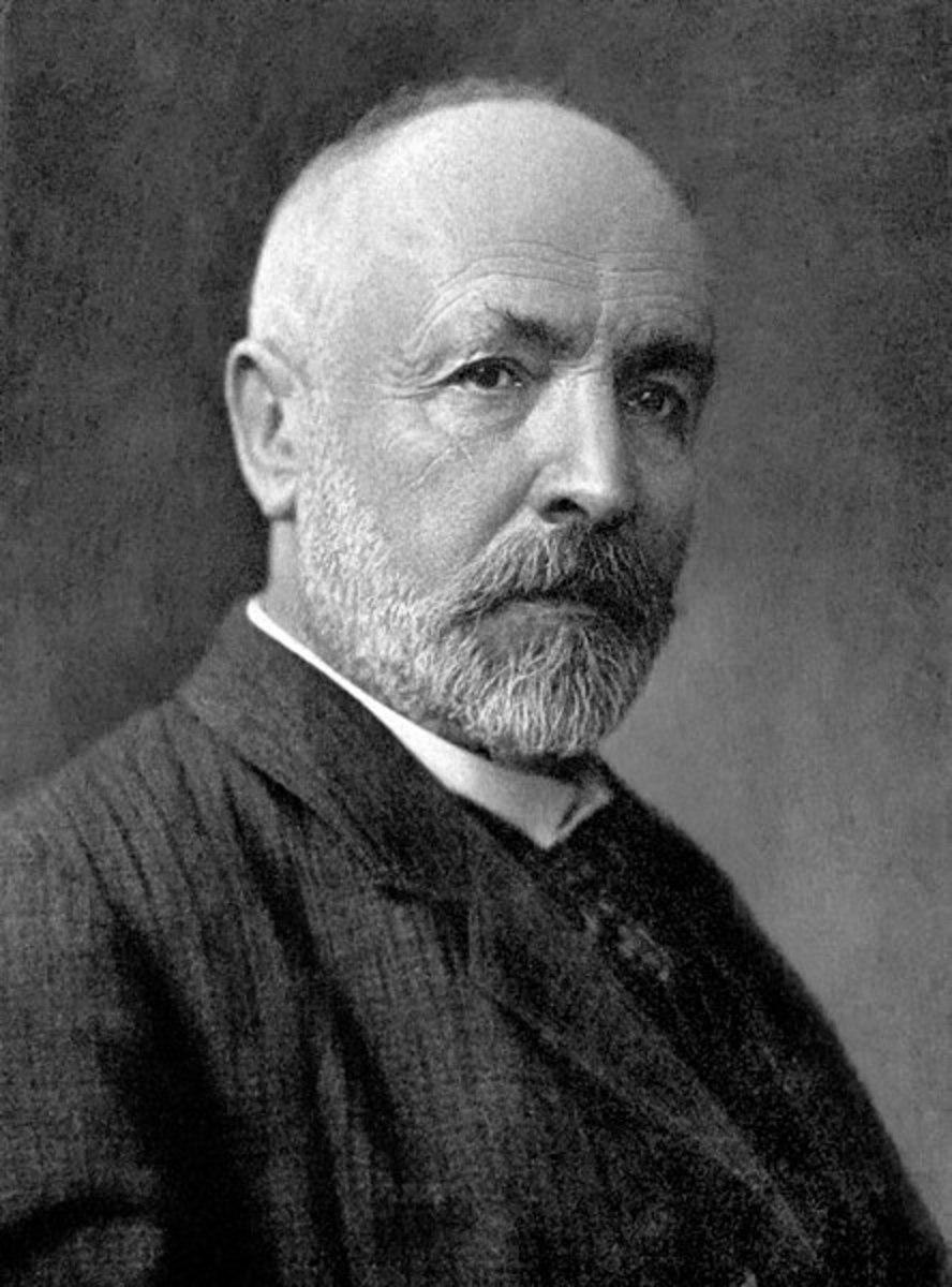 Georg Cantor 1845–1918