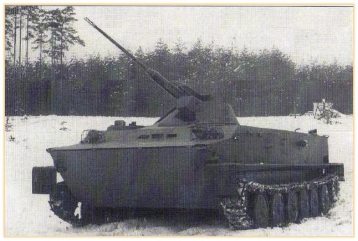 The OT-62 Vydra II, whose excellent 30mm autocannon is superb in 1980.