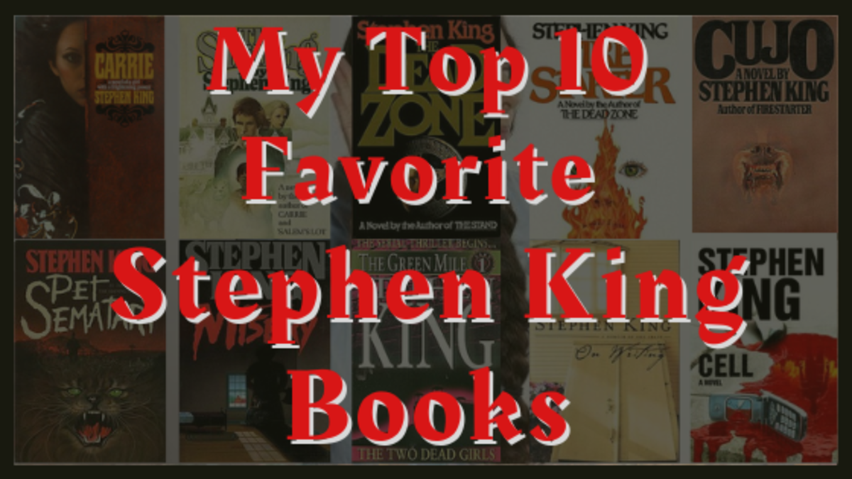 My Top 10 Favorite Stephen King Books