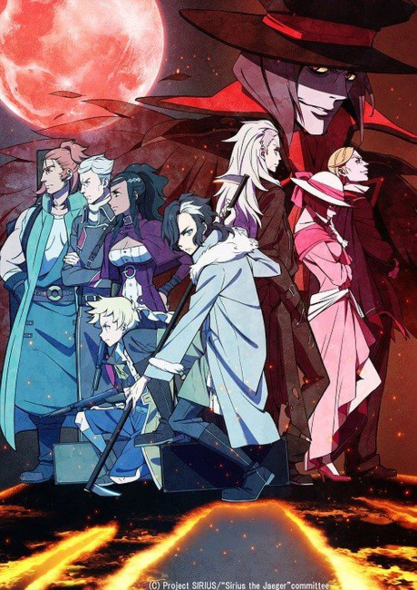 Anime Review: Sirius the Jaeger (2018)