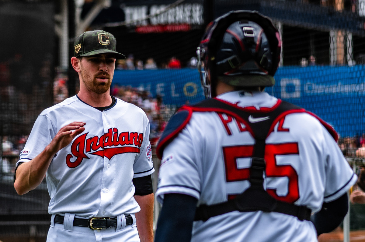 In 2020, Cleveland's Shane Bieber became the 12th pitcher to win the American League Triple Crown.