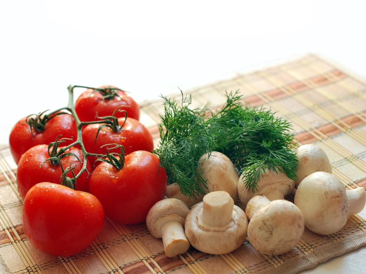 Mushrooms- For Extra Biotin