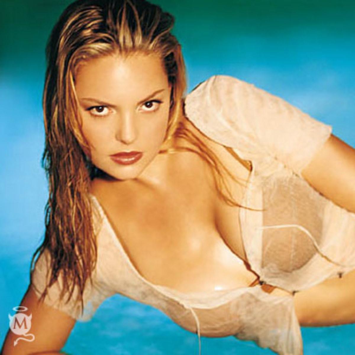 All wet Katherine Heigl