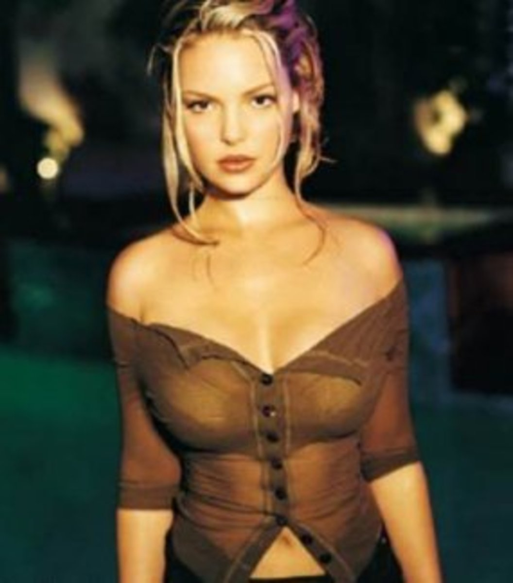 Sexy hot Katherine Heigl - I love her