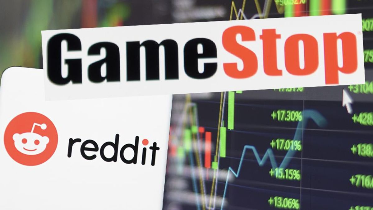 GameStop stocks are at a record high after a planned short squeeze