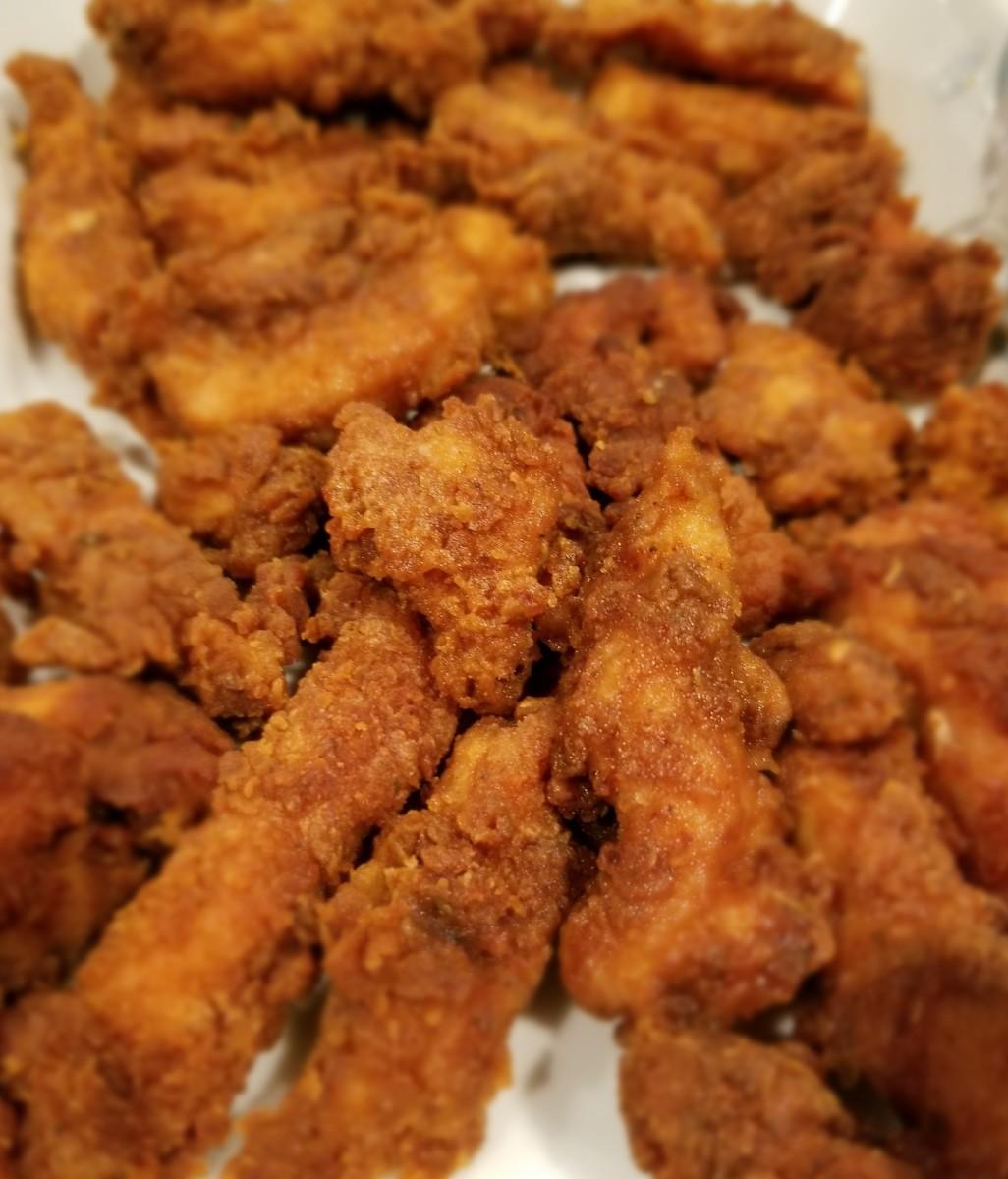Chef David's Crispy Chicken Fries