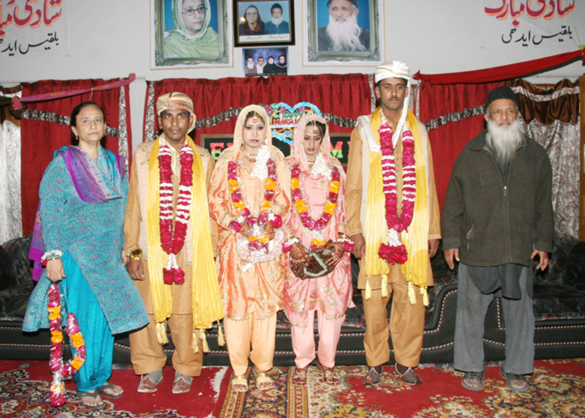Edhi, runs a marriage service for poor and needy male & female