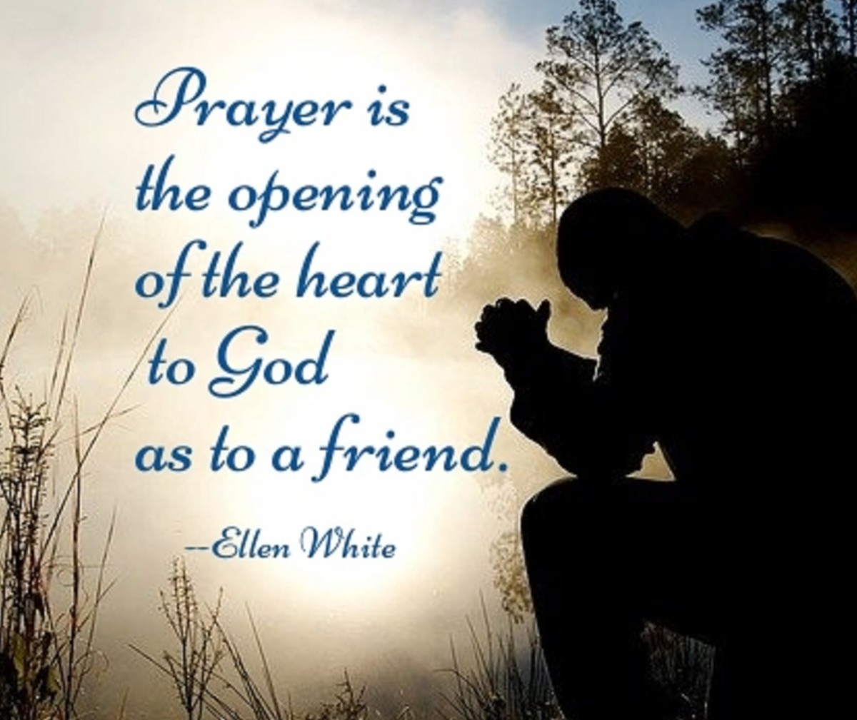 Pray-ers share their innermost thoughts with God.