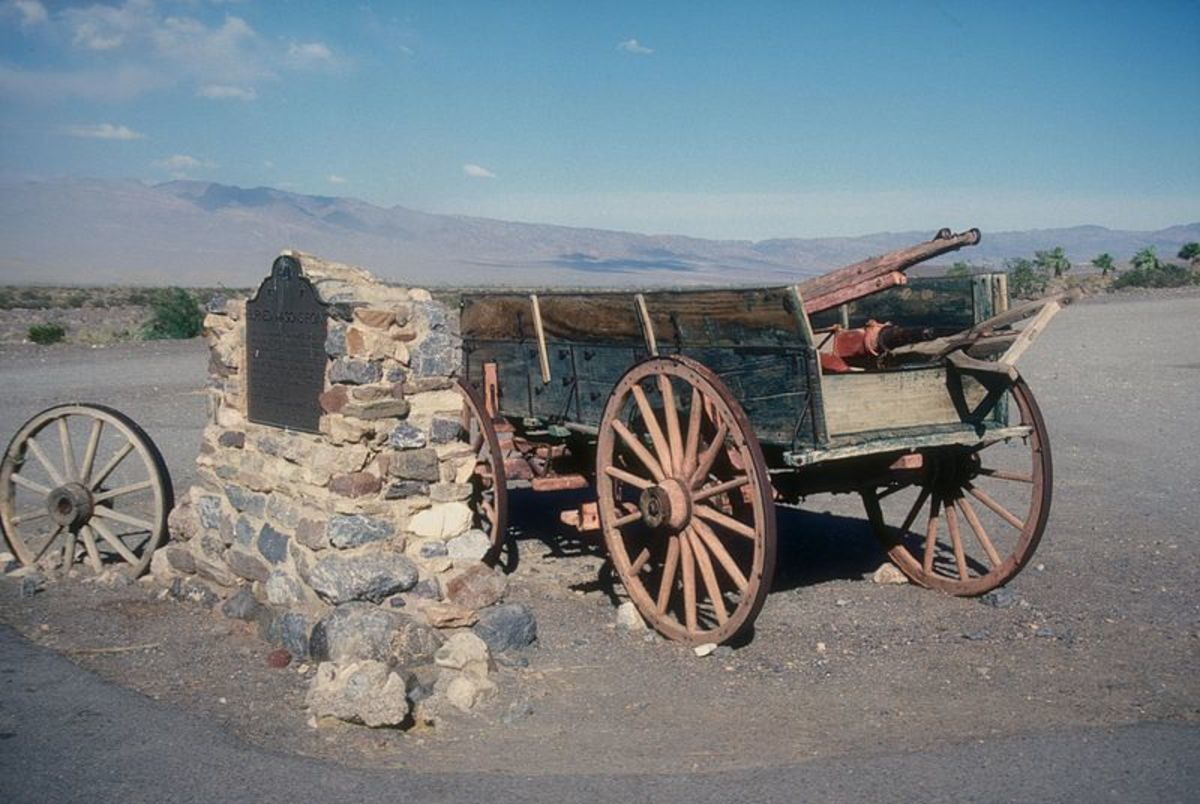 Burnt Wagon Monument