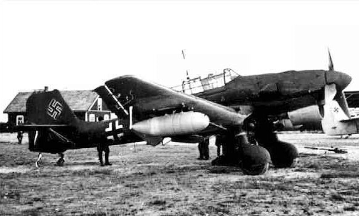 German Junkers Ju 87 Stuka