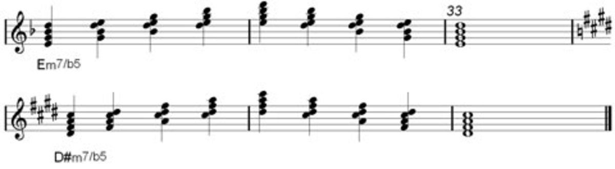 Half Diminshed 7th Chord part 2
